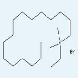 十六烷基二甲基乙基溴化铵