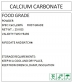 食品级碳酸钙