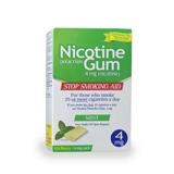 Nicotine polacrilex gum